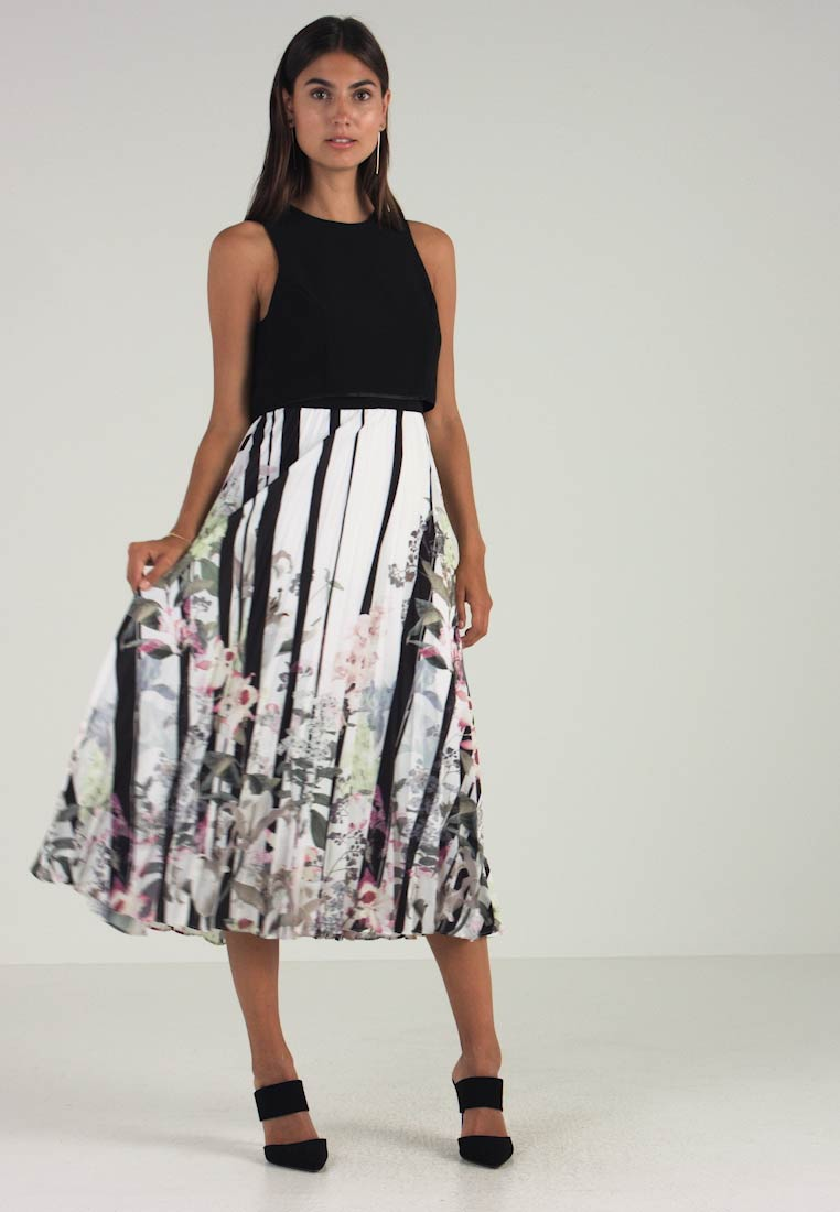 Coast - BAILEY PRINT PLEATED DRESS - Maxi šaty - multi