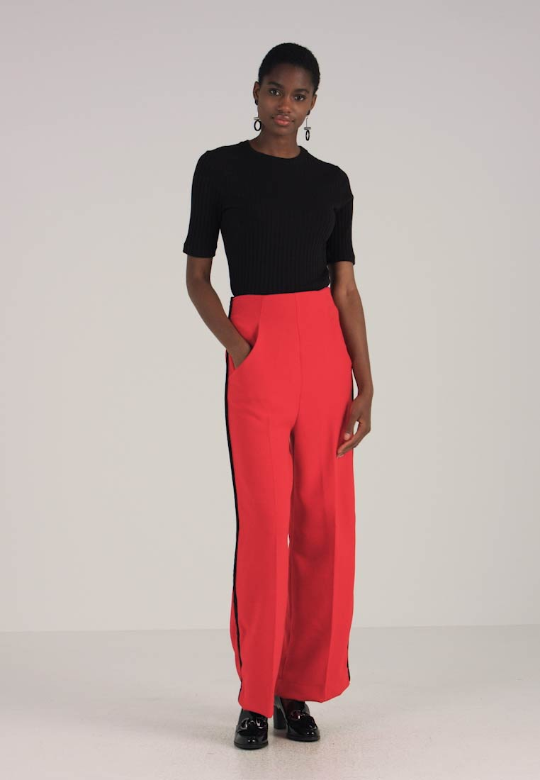 Newest Closet Trousers Black Red Friday ZOPSwx