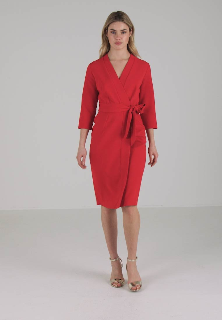 Closet Robe fourreau - red