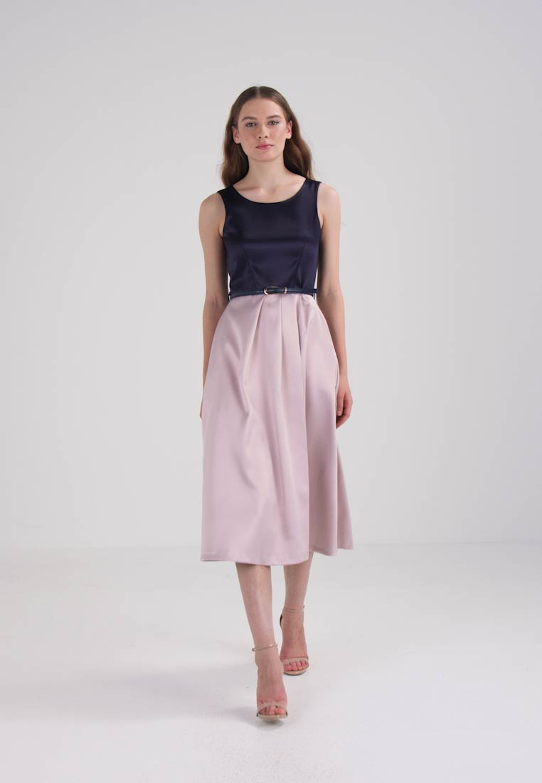 Closet Cocktailkjole - navy/blush