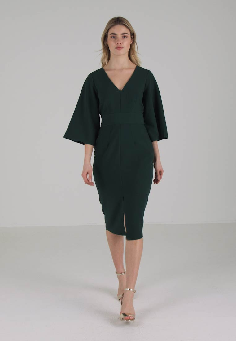 Closet Robe fourreau - green