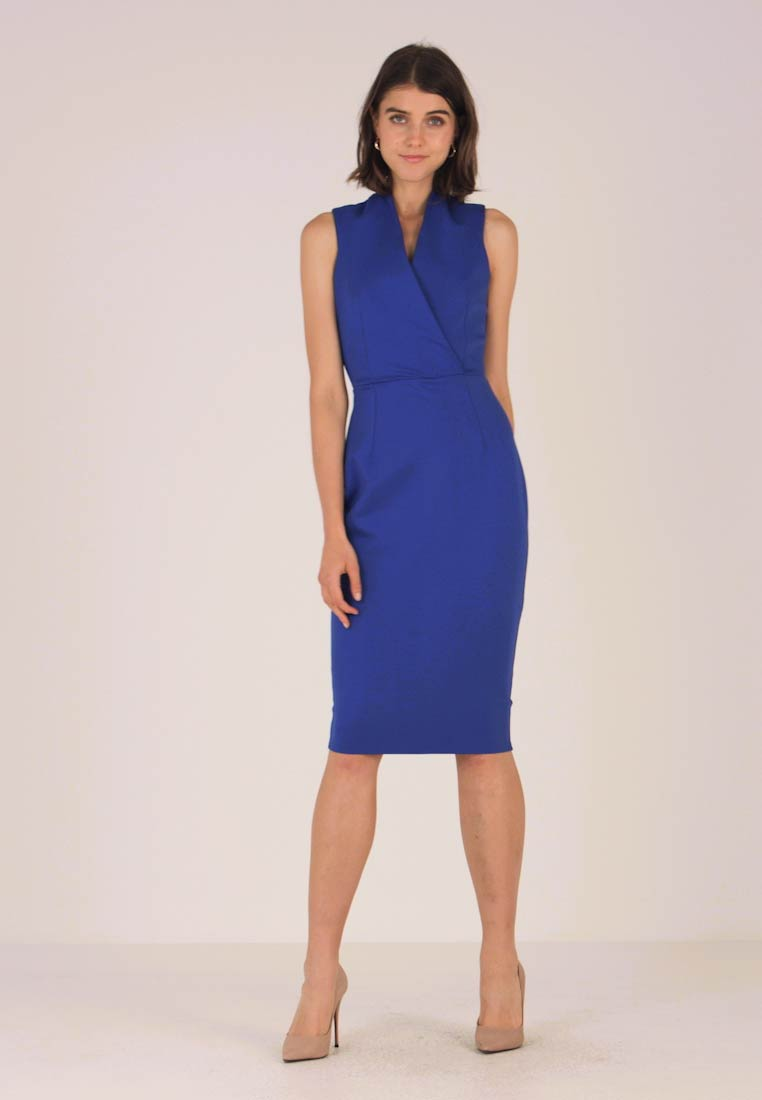 Closet - CLOSRET LONDON BODY CON DRESS - Etuikleid - cobalt
