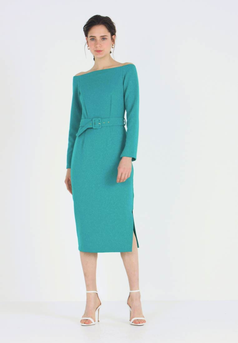 Closet - CLOSET LONDON BARDOT DRESS - Shift dress - turquoise