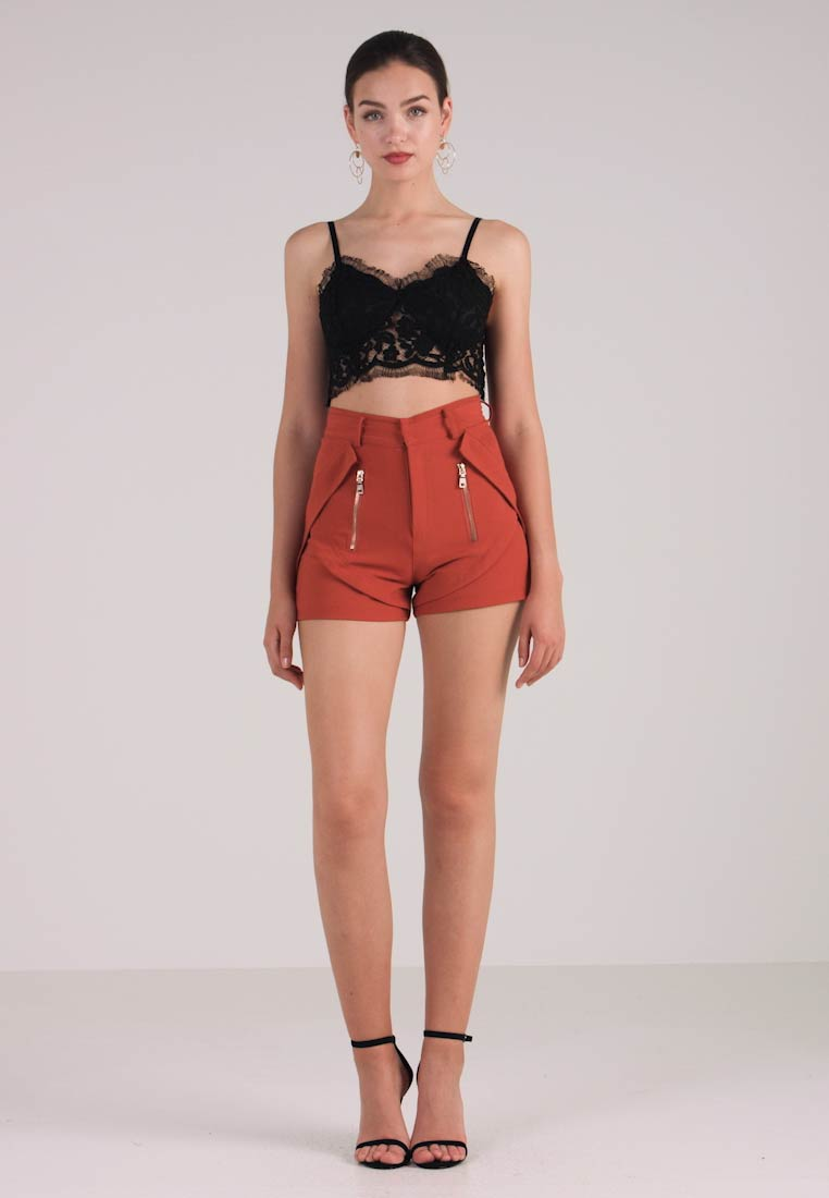 Orange L Shorts Tailored London Club Detail qnSAzTAw