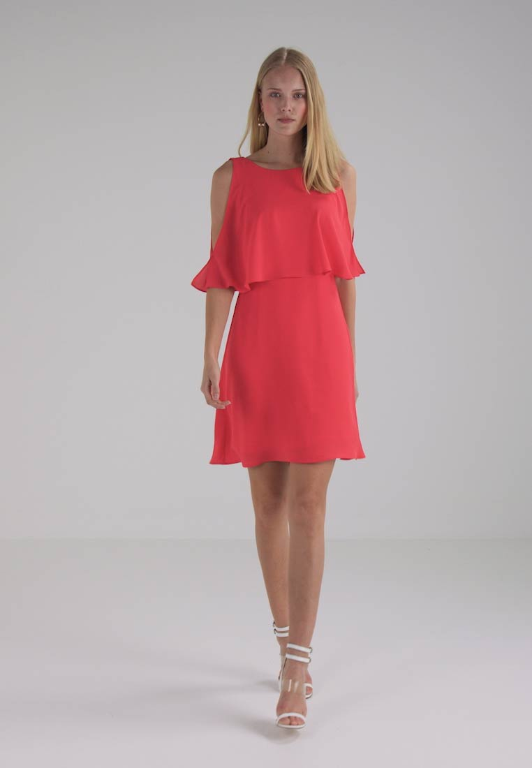 be6fd97a60c8 comma KURZ - Cocktailkleid festliches Kleid - coral - Zalando.de