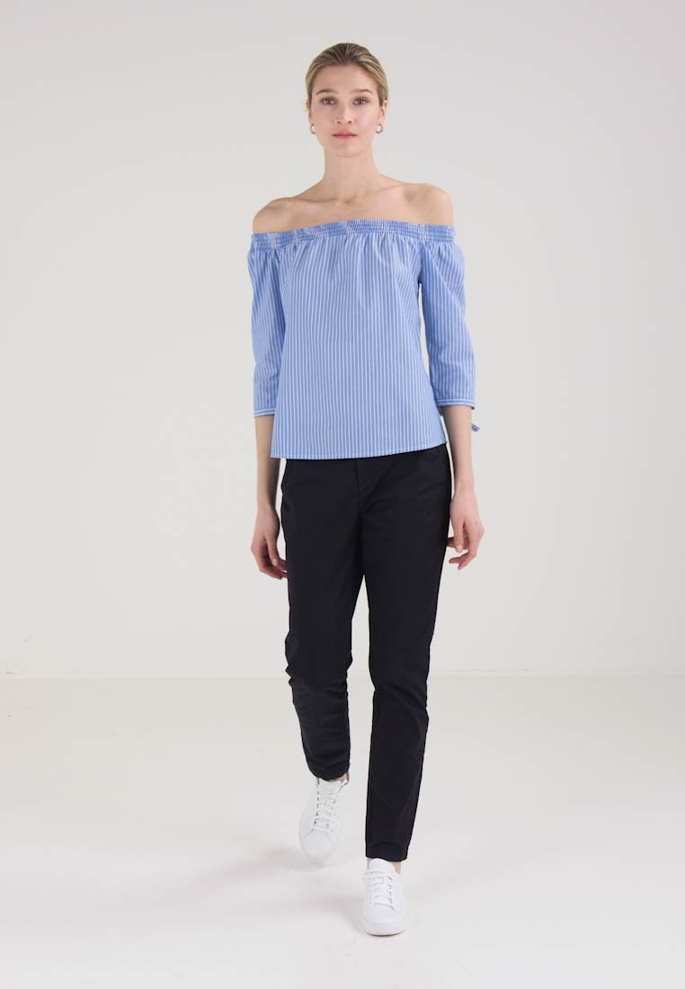 New Comma Blue New Release Comma Comma New Release Blouse Blue Release Blouse 6qEzw6AI
