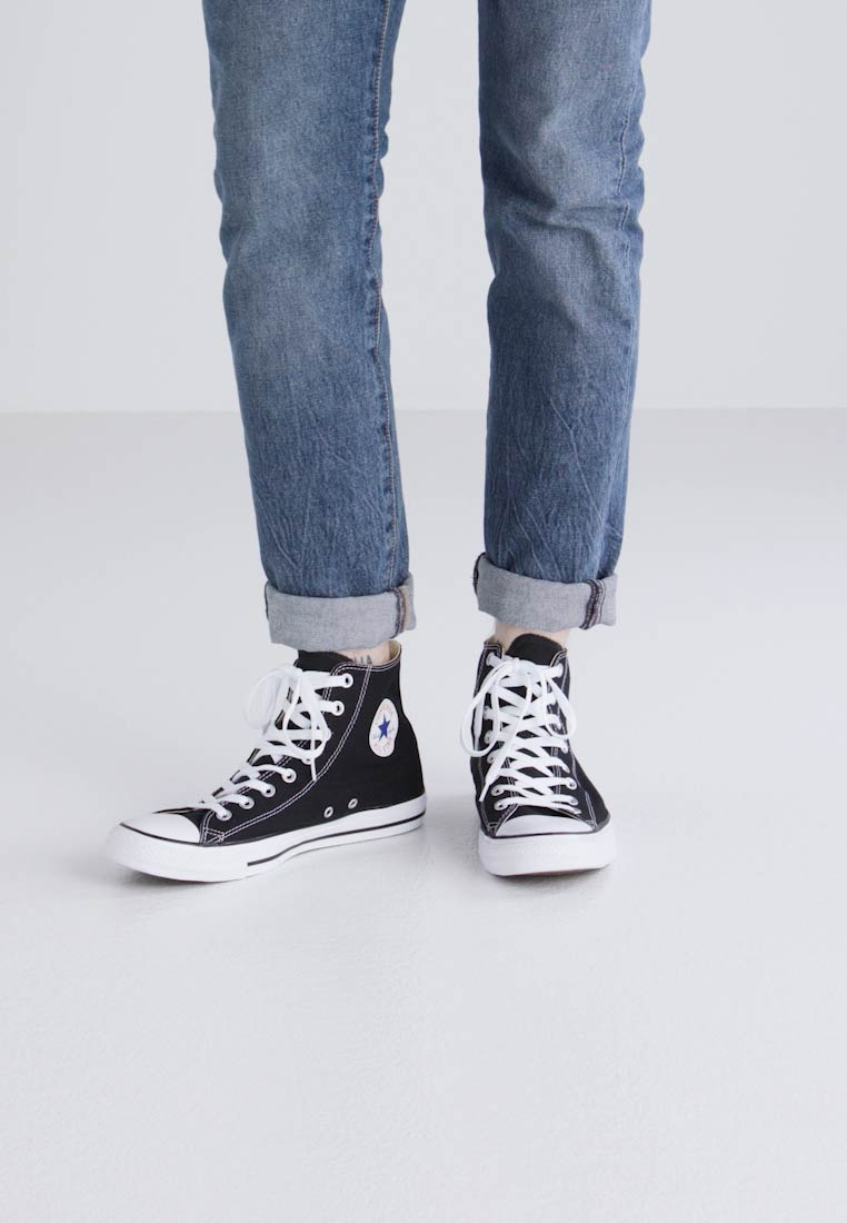 Taylor High nbsp;textile Converse Hi All Chuck Lining Black Trainers Star top Xvxvq5cHOw