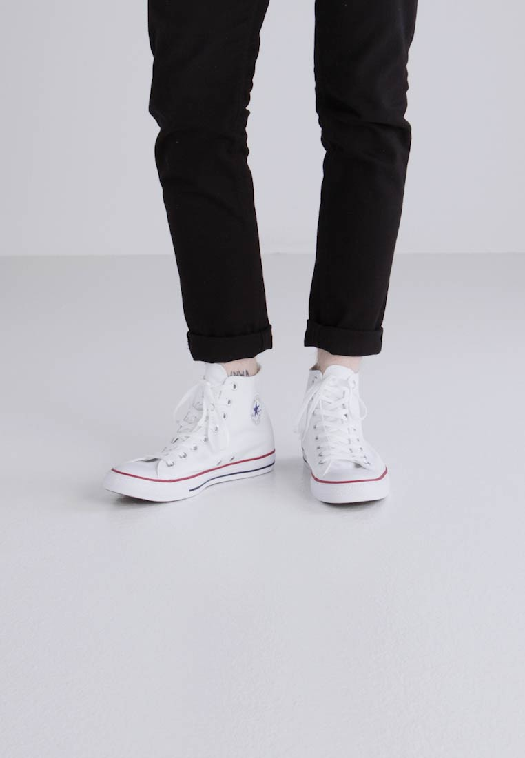 converse all star hi bianche