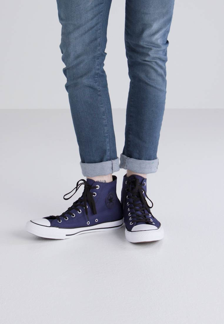 Converse CHUCK TAYLOR ALL STAR BASKET KNIT - HI - Zapatillas altas midnight navy/black/white