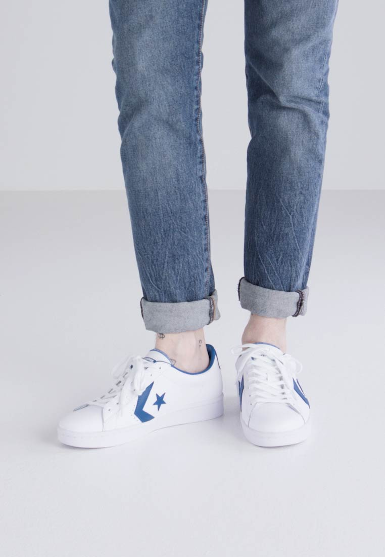 Converse PL 76 ELEVATED - OX - Zapatillas white/blue jay