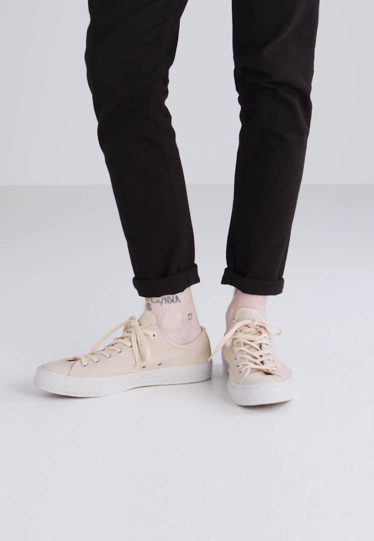 Converse CHUCK TAYLOR ALL STAR NUBUCK - OX - Zapatillas light twine/malted/pale putty