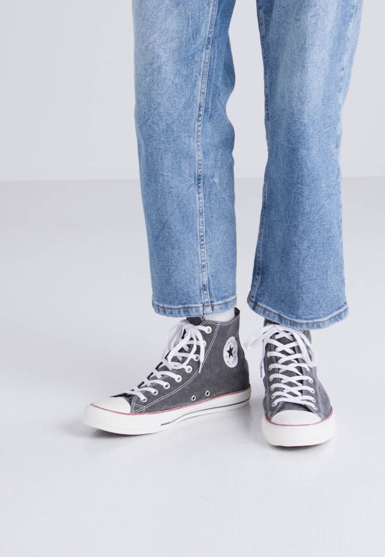 Trainers Converse top High Printed All Wash Taylor Star Chuck nbsp;textile Lining Black qnH8wRqA
