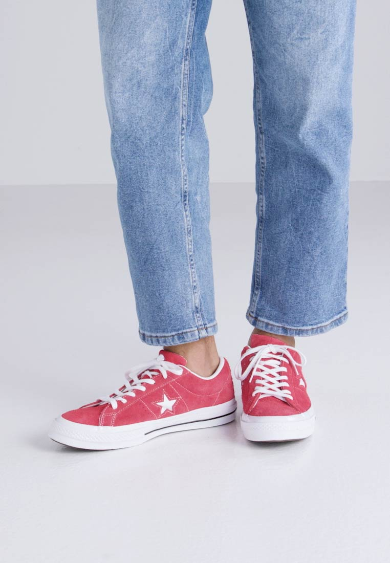 Converse ONE STAR - Joggesko red/white