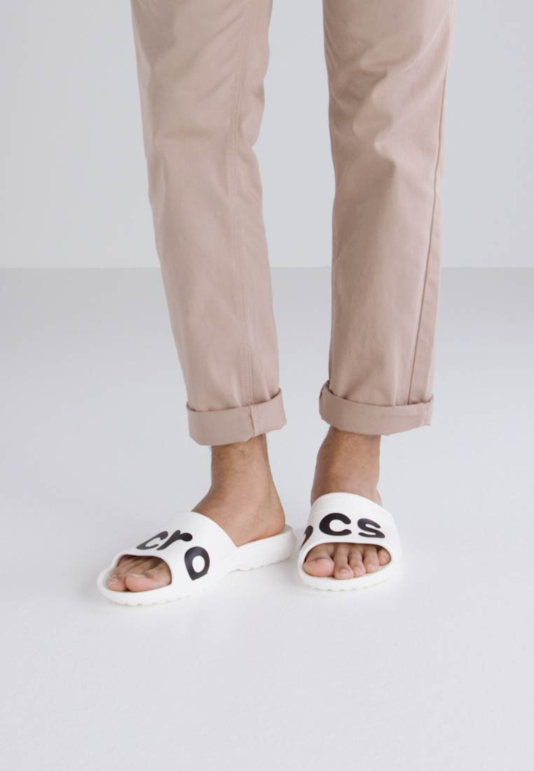 Crocs CLASSIC GRAPHIC SLIDE - Slippers
