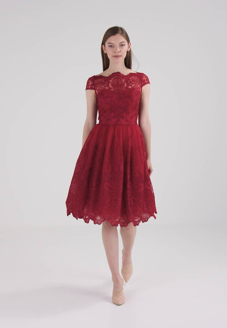 Chi Chi London AVIONE - Robe de soirée - dark red