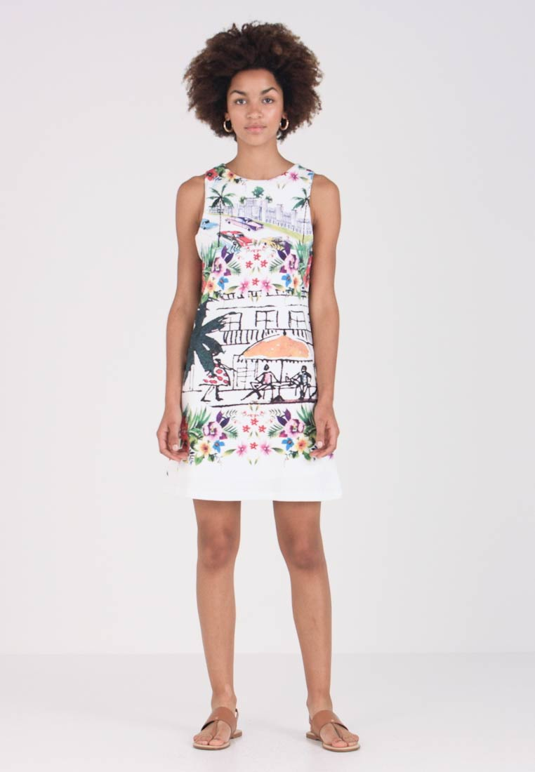 Desigual - ANNA - Day dress - white