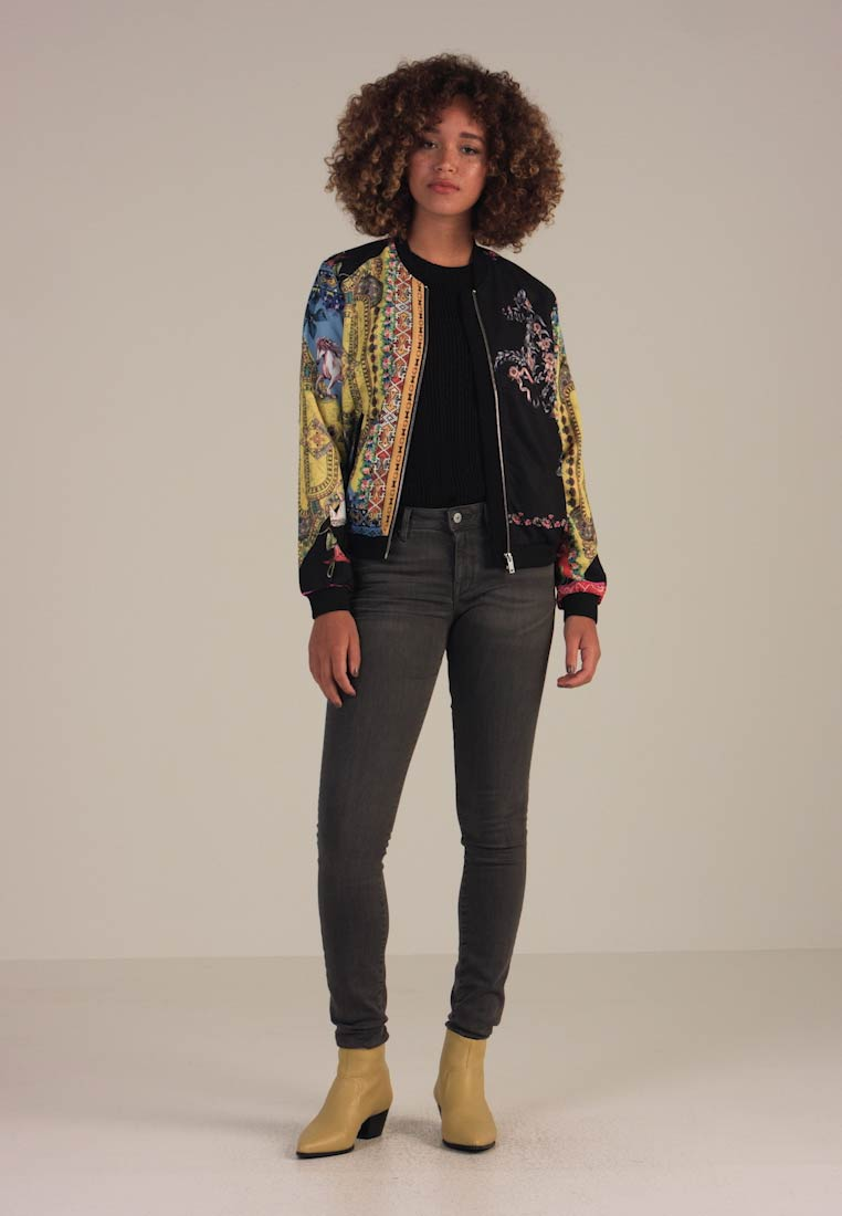 amazon outlet prezzi economici Desigual CHAQ SIALUK - Giubbotto Bomber - multicolor - Zalando.it