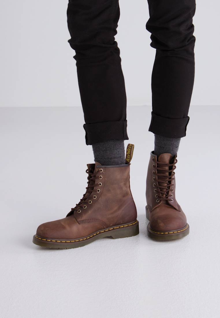 Dr. Martens CRAZY - Bottines à lacets - gaucho