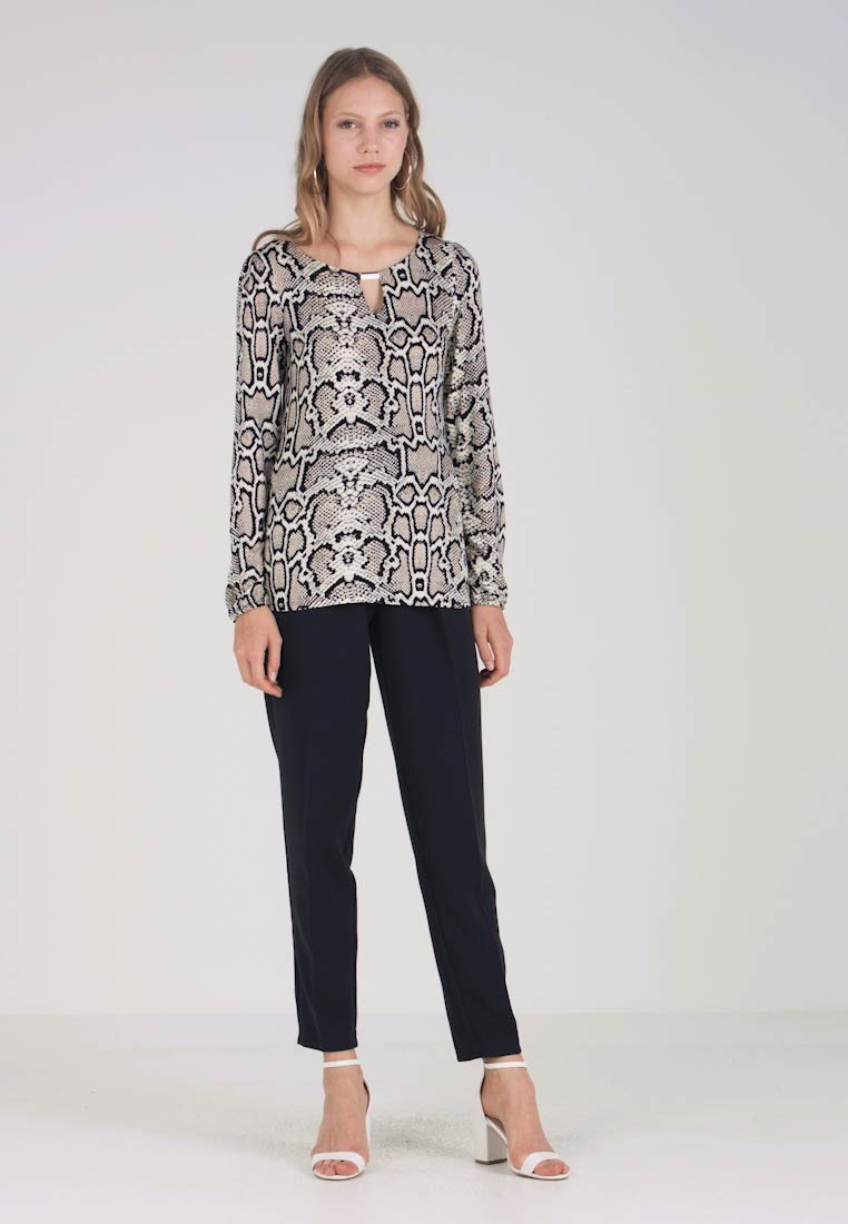 Dorothy Perkins Tall - SNAKE ITY - Bluse - grey