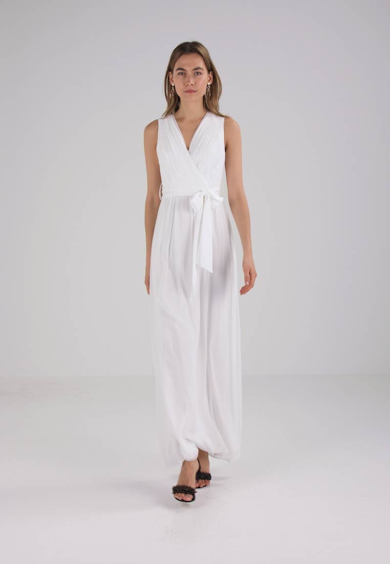 Dorothy Perkins JULIET MAXI BRIDAL DRESS - Robe de cocktail - off white