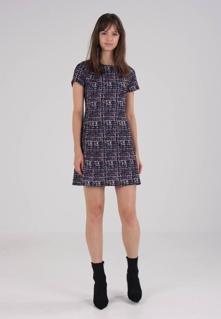 Dorothy Perkins SEAMED FIT AND FLARE - Jerseykjole - grey