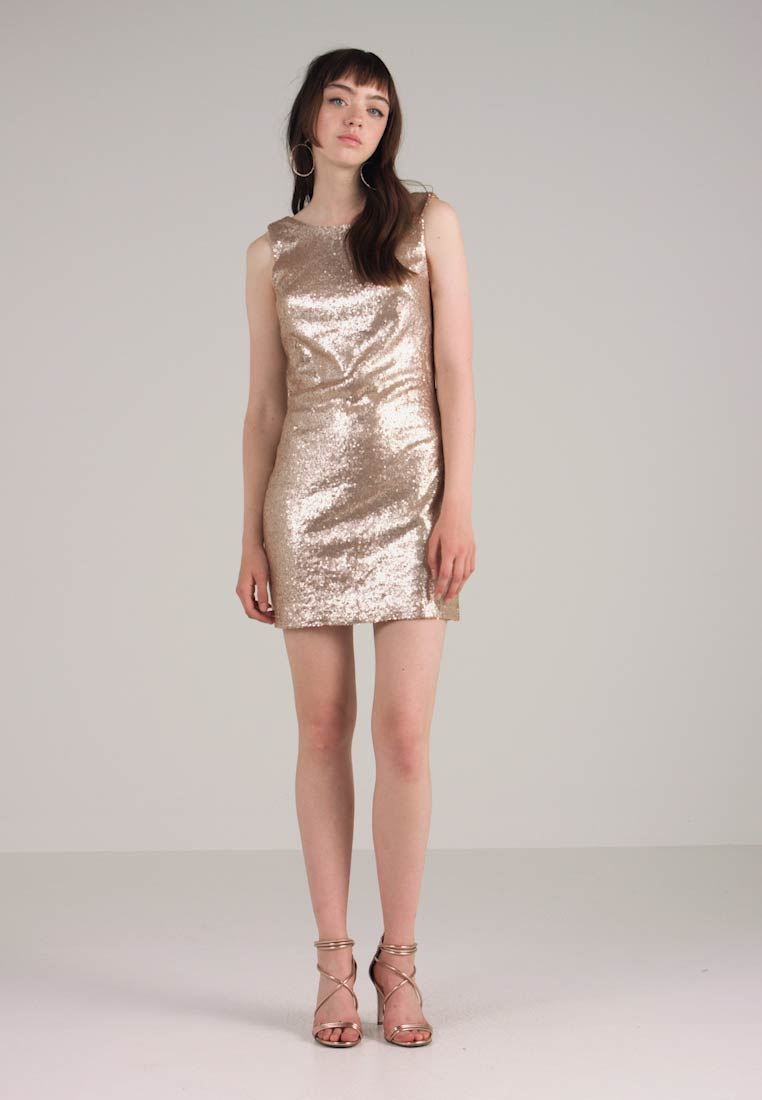 Dorothy Perkins - ROSE SEQUIN - Cocktailkleid/festliches Kleid - rose gold