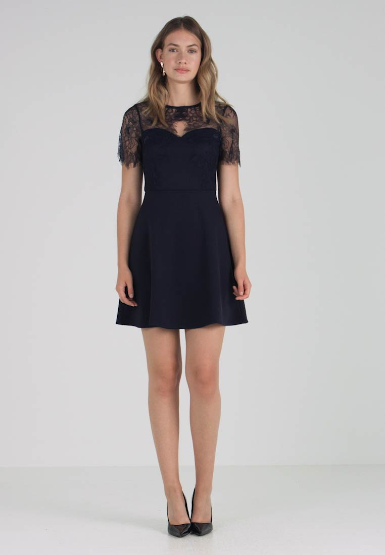 Dorothy Navy Jersey Perkins And Fit Flare Short Dress rwxr1qzPFA