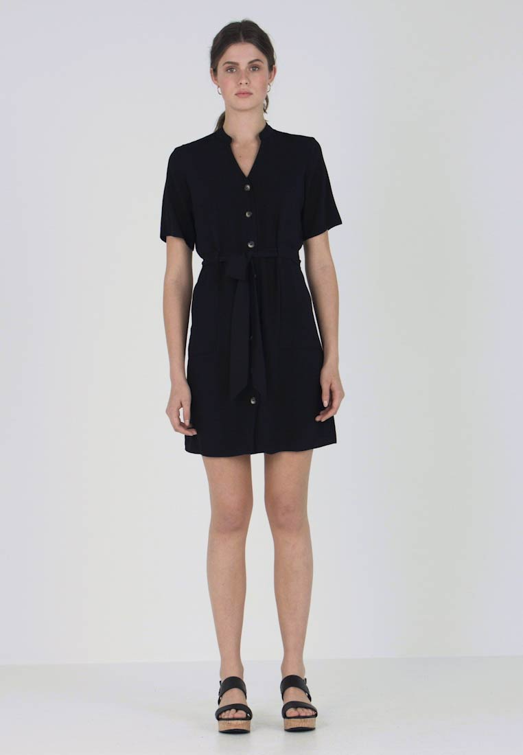 Blousejurk Notch Dress Neck Dorothy Black Perkins gYA7I