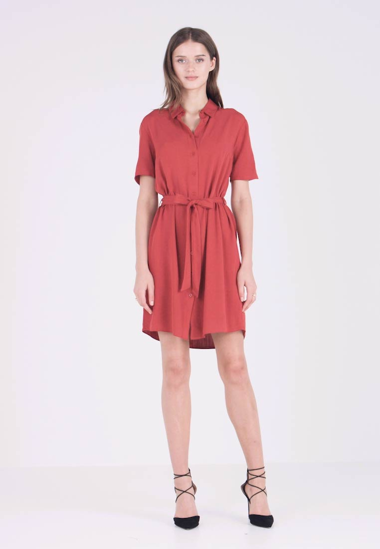 Dorothy Perkins - DRESS - Robe chemise - red