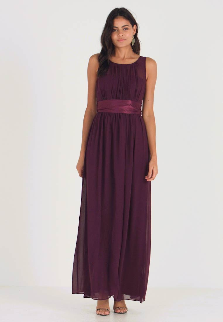 Dorothy Perkins - NATALIE MAXI DRESS - Ballkleid - oxblood