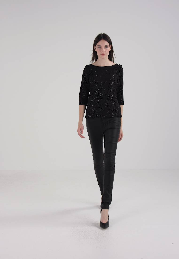 Dorothy Perkins MUTTON SLEEVE SPACE - Topper langermet - charcoal