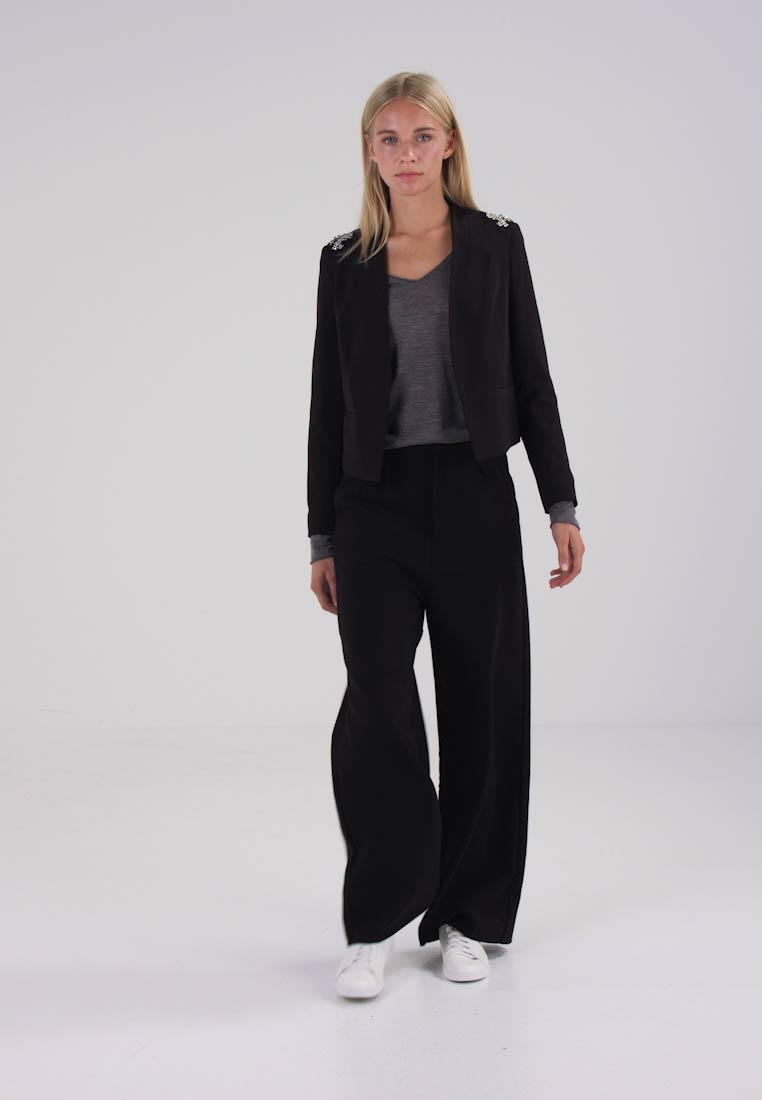 Dorothy Perkins GOING OUT EMBRODIRED - Blazer black