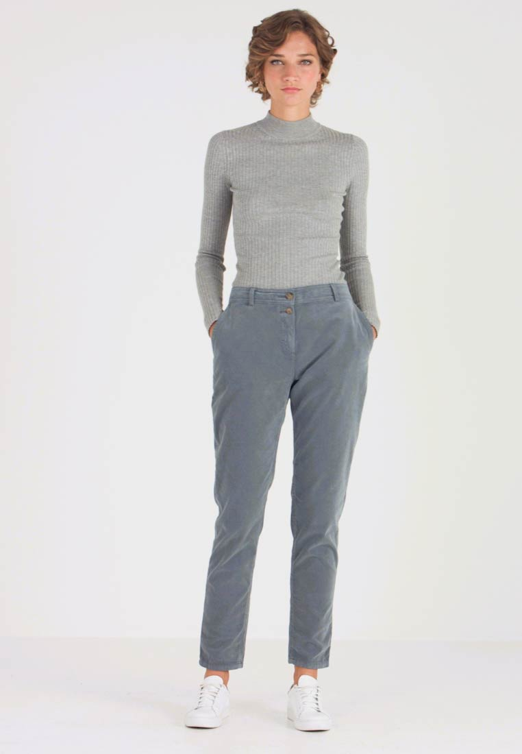 edc by Esprit - Trousers - grey blue