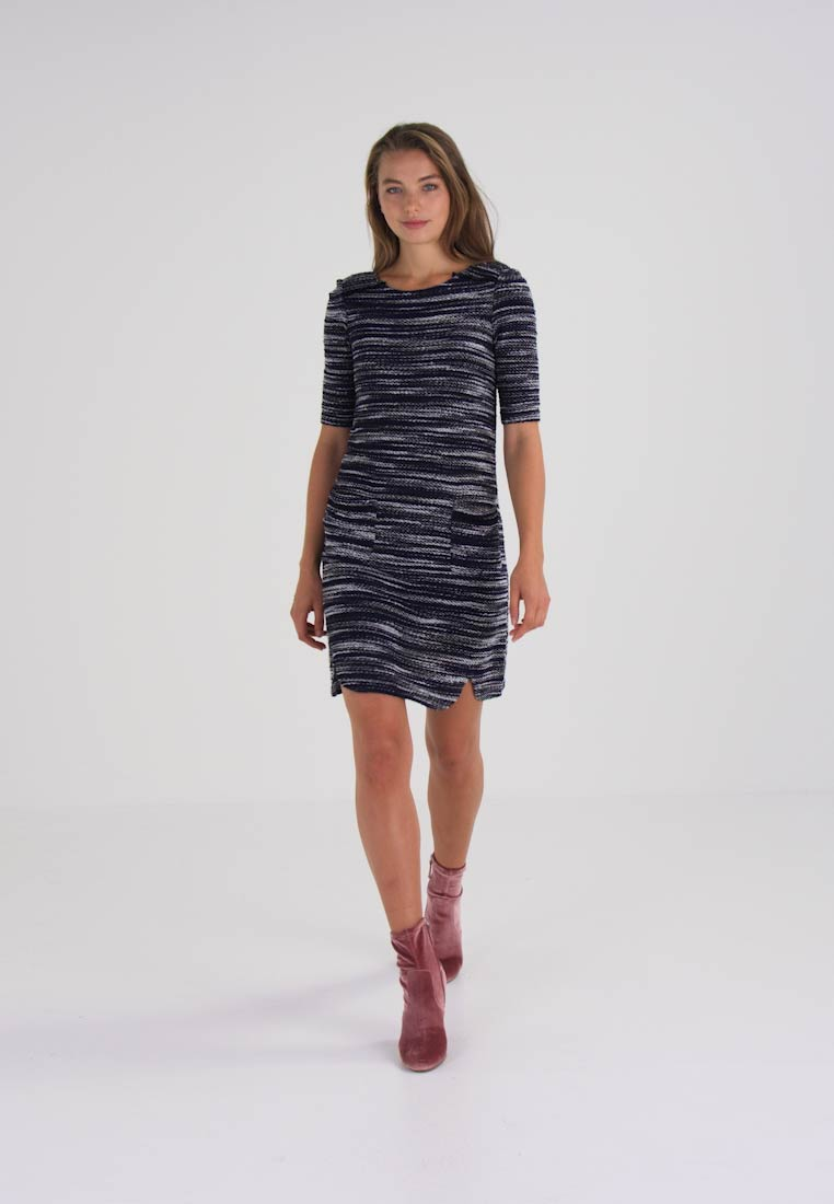 edc by Esprit BOUCLE  - Robe pull - navy