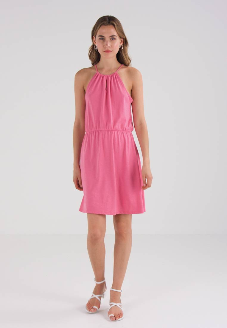 edc by Esprit TWISTED DRESS - Jerseykjole - pink fuchsia