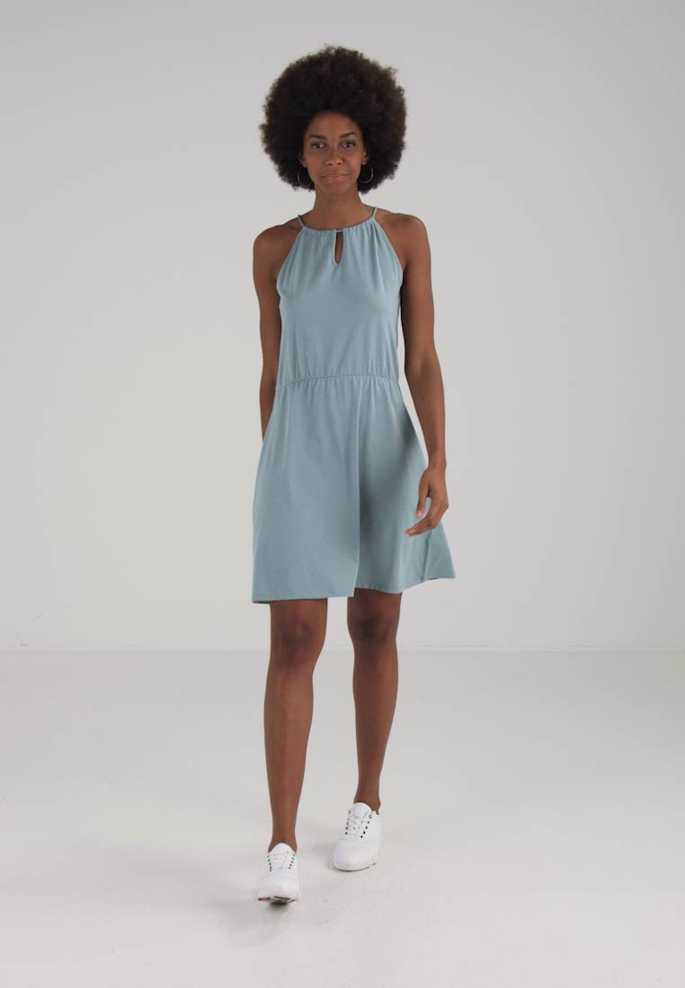 Dress Twisted Jersey Esprit Turquoise By Edc C6fqOgt