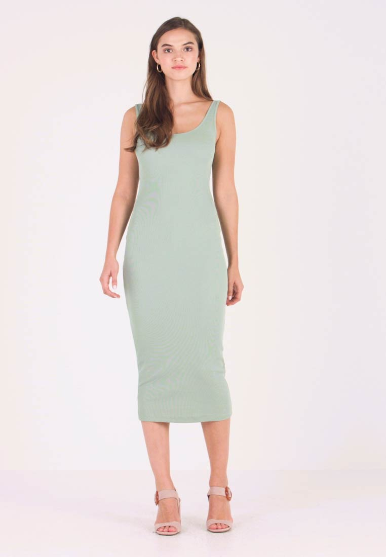 Envii - ENOCEAN DRESS - Maxikjoler - iceberg green