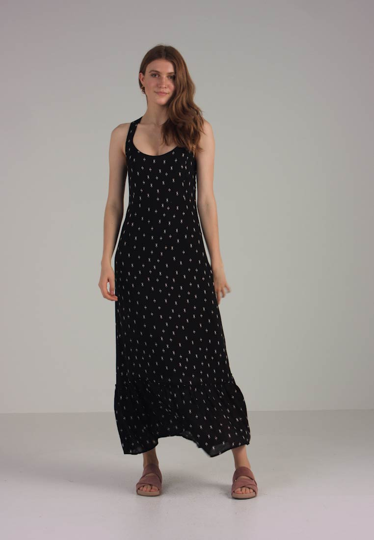 Dress Esprit Fluent Black Authentic Maxi RpxOw1fqH