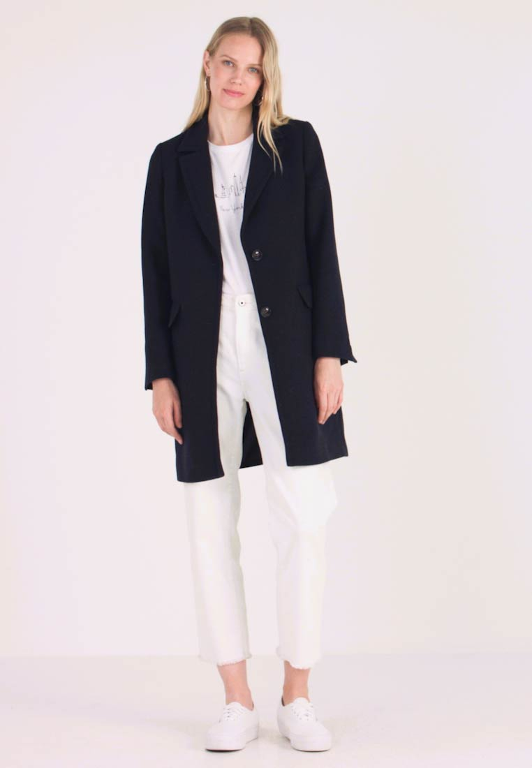 look for better hot sales NEW BASIC - Classic coat - navy