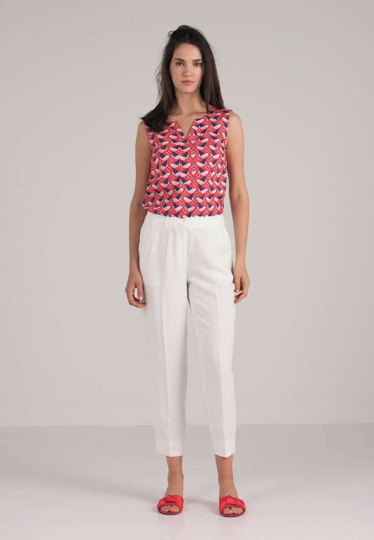 Trousers Ruffle Off Esprit White Collection OE5qzq