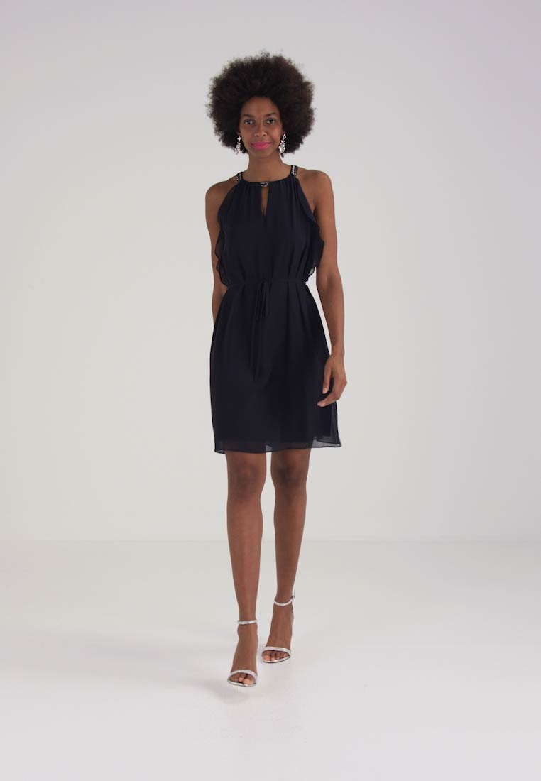 New Party Collection Esprit Dress Fluid Navy Cocktail 5d4XqwxX