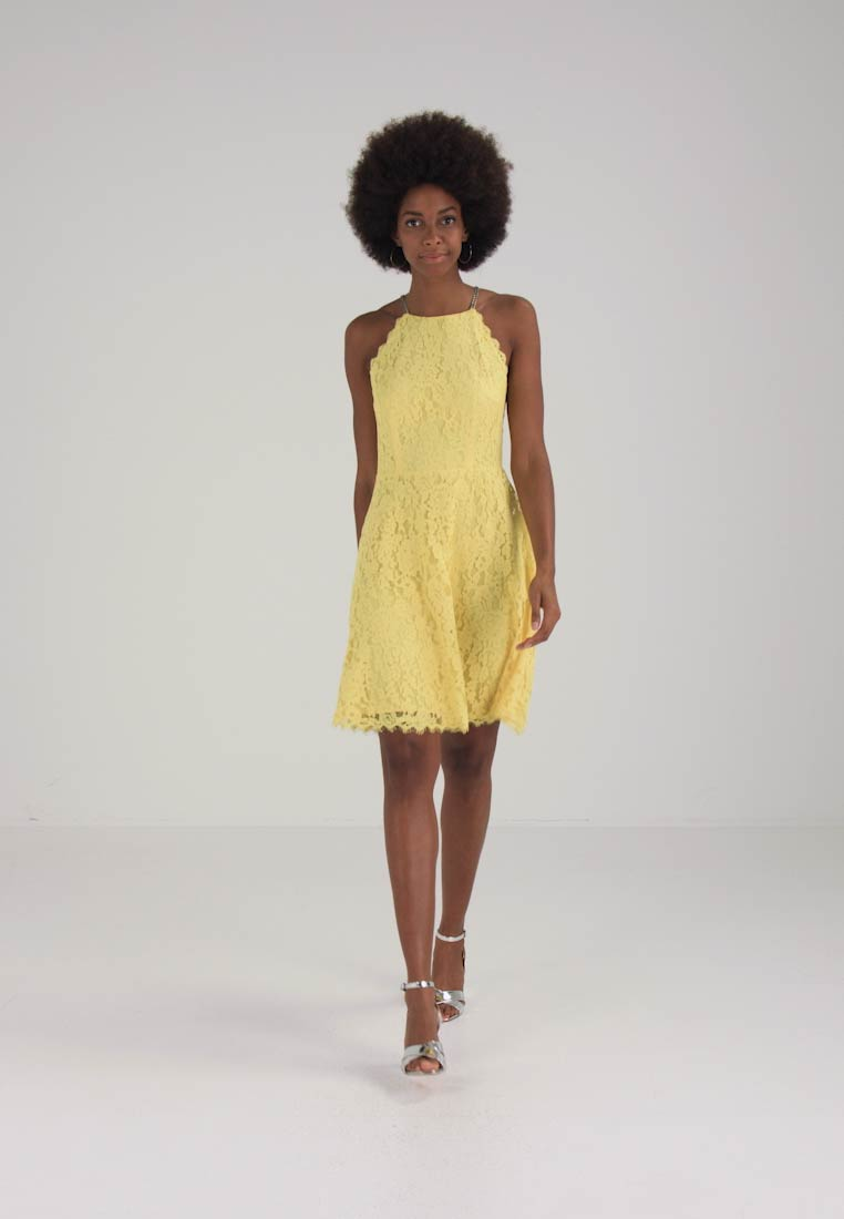 Collection Light Cocktail Dress Yellow Stella Party Esprit 1X6qwd1