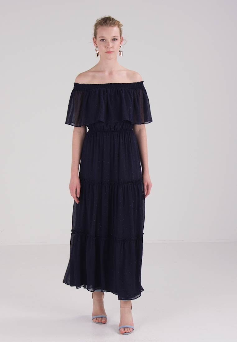 Collection Navy Esprit Maxi Crinkled Dress 7dw0pqwR