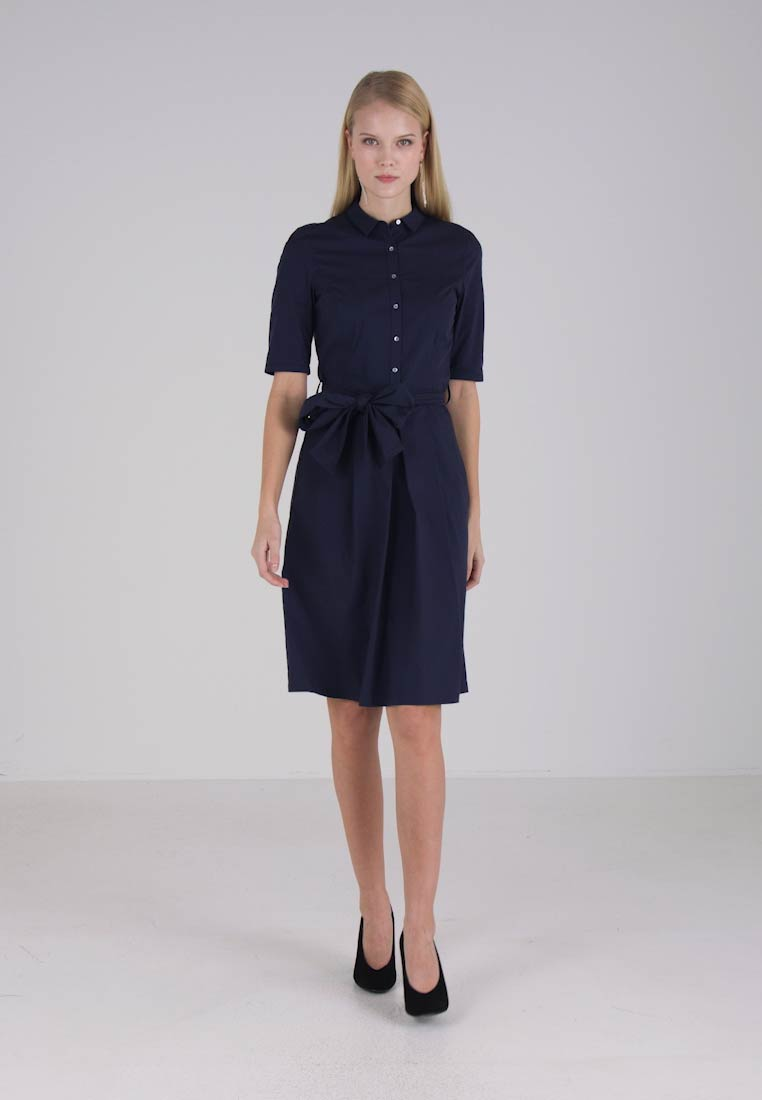Esprit Collection BLOUSE DRESS - Robe chemise - navy