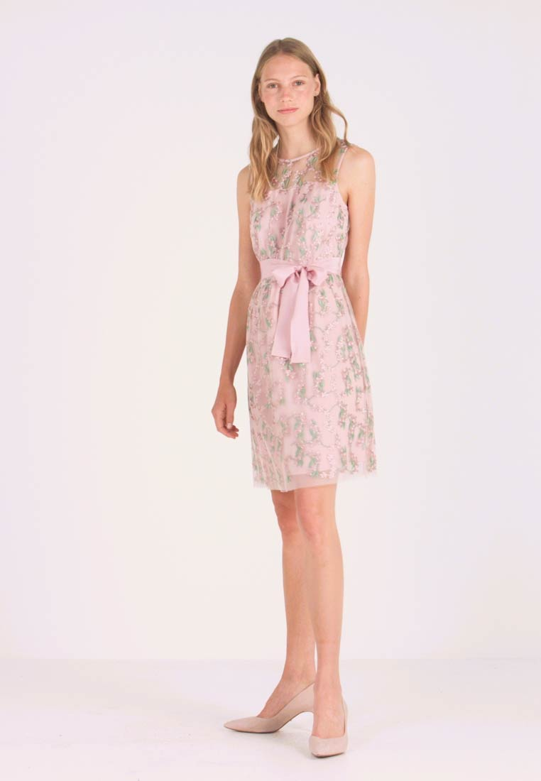 Esprit Collection - DAISY STEM - Vestido de cóctel - old pink