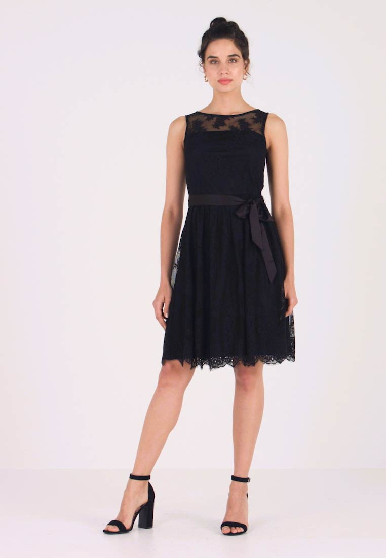 Esprit Collection - NEW DELICATE - Cocktailkleid/festliches Kleid - black