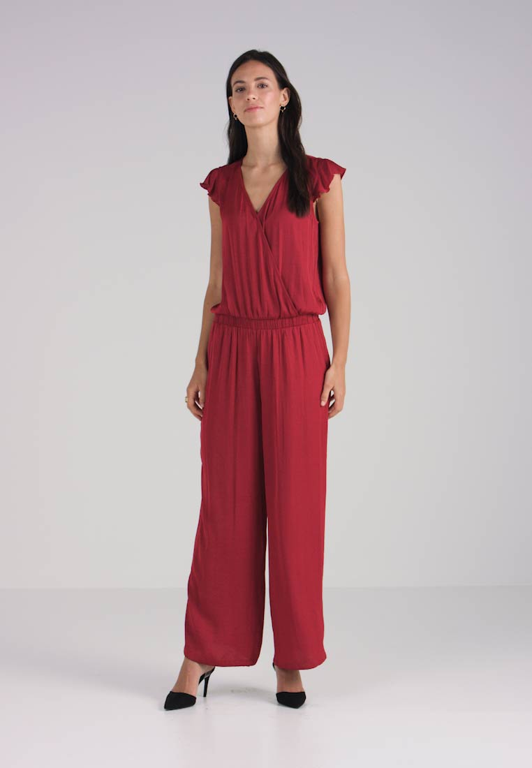 Jumpsuit Dark Modern Collection Red Esprit B7AqXwO