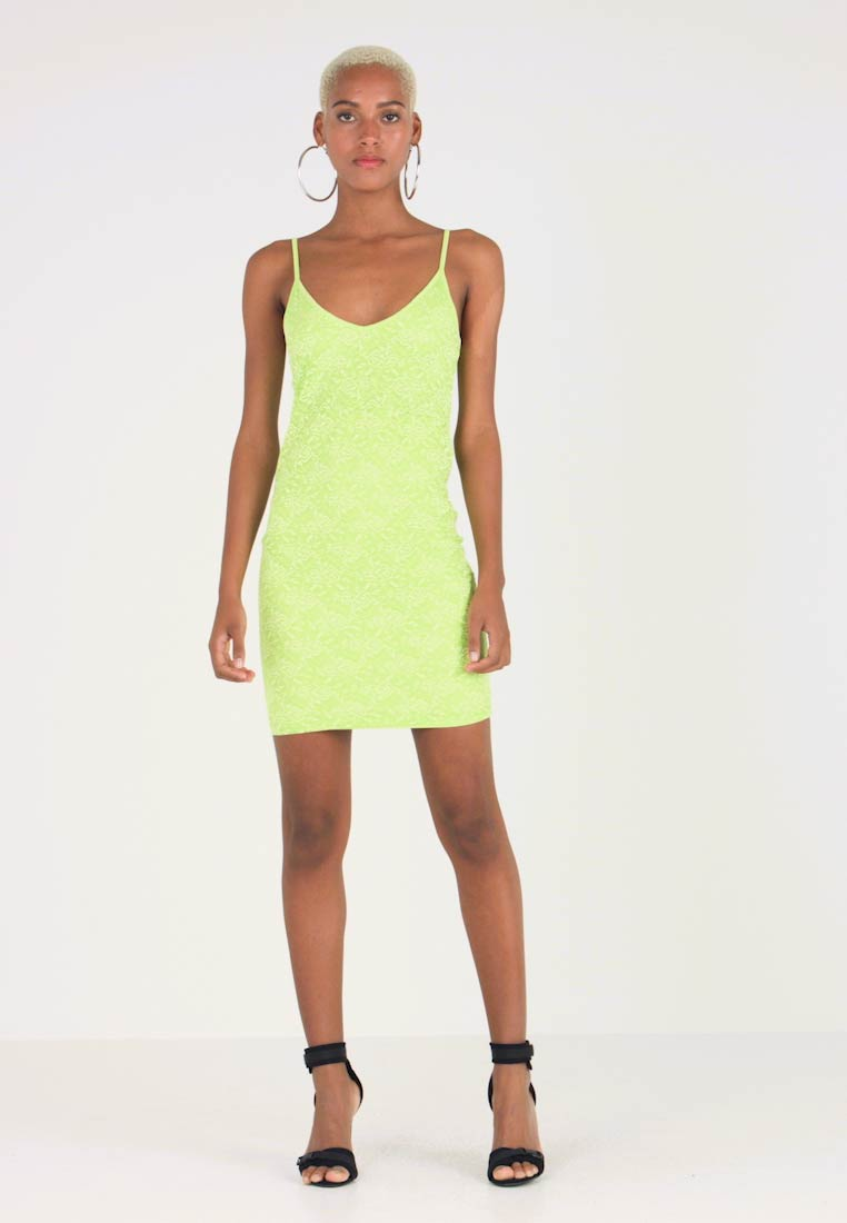 Even&Odd - Jerseykleid - lime as per swatch
