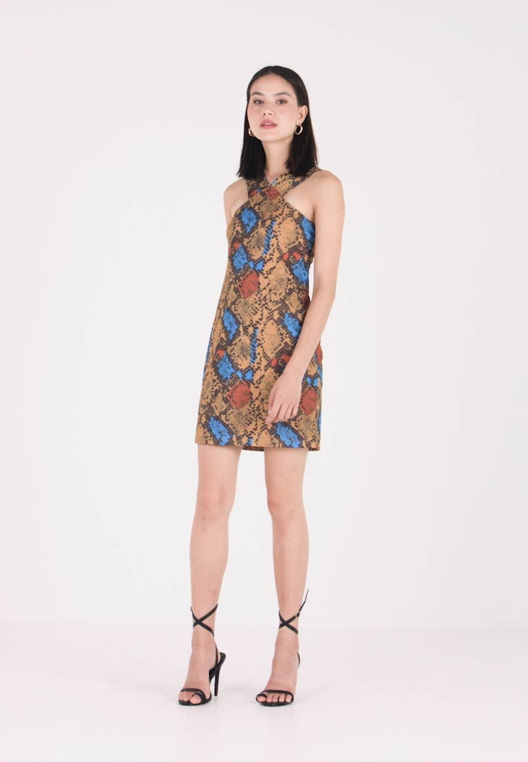 Even&Odd - Shift dress - blue/beige