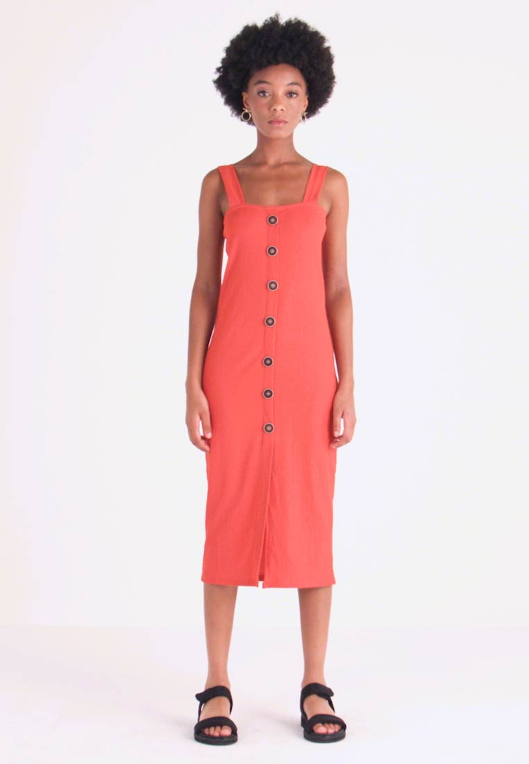 Even&Odd - Vestido informal - rust